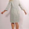 Kleid von Penn and Ink S19F556LTD Aqua grey
