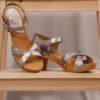 Sanita Erite Square Flex Sandal pewter