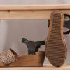 Sanita Othenia Wedge Flex Sandal-black