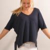 """Shirt von Blaumax """"Finez""""- navy"""